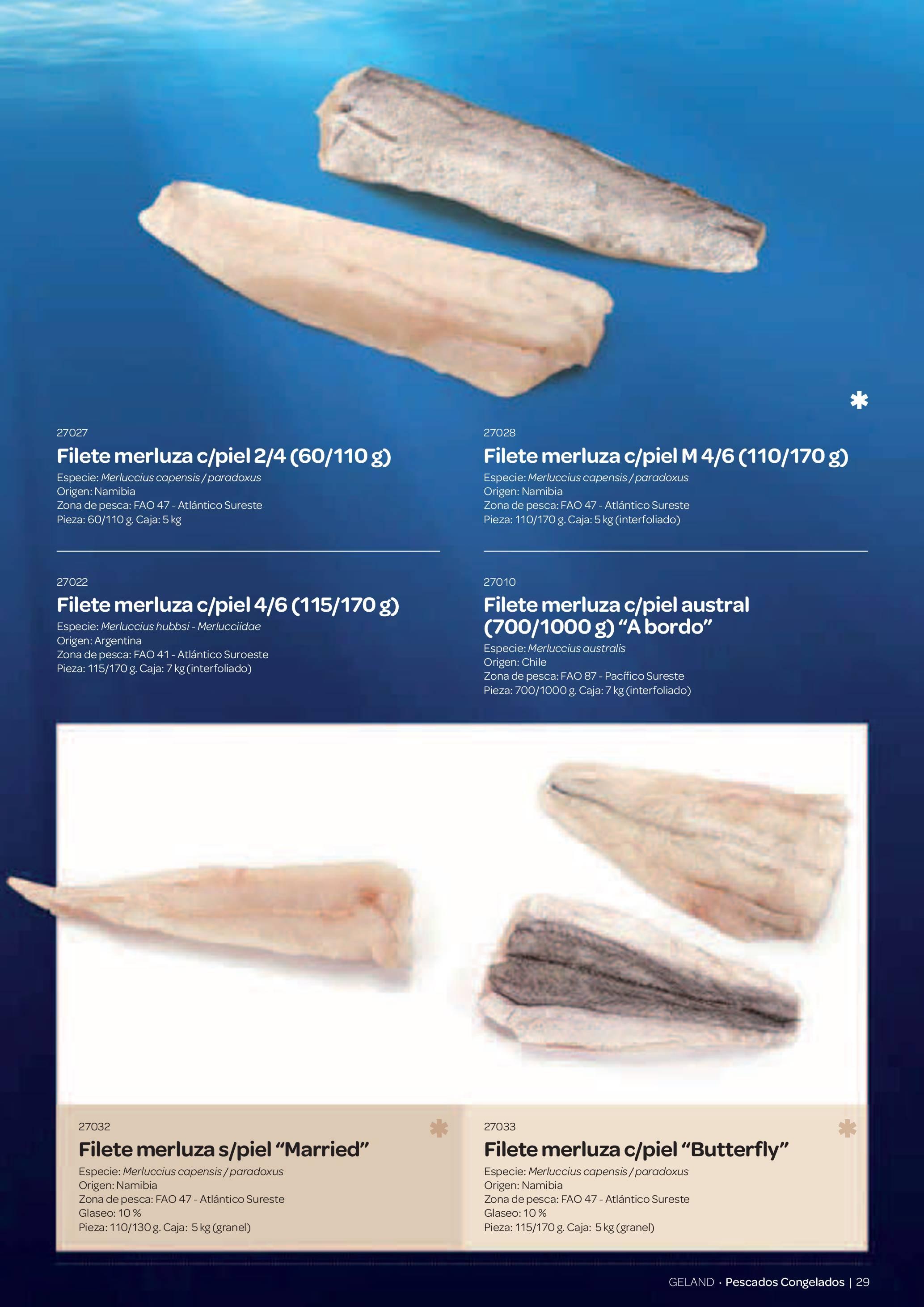 Gama Productos del Mar - Pag. 029
