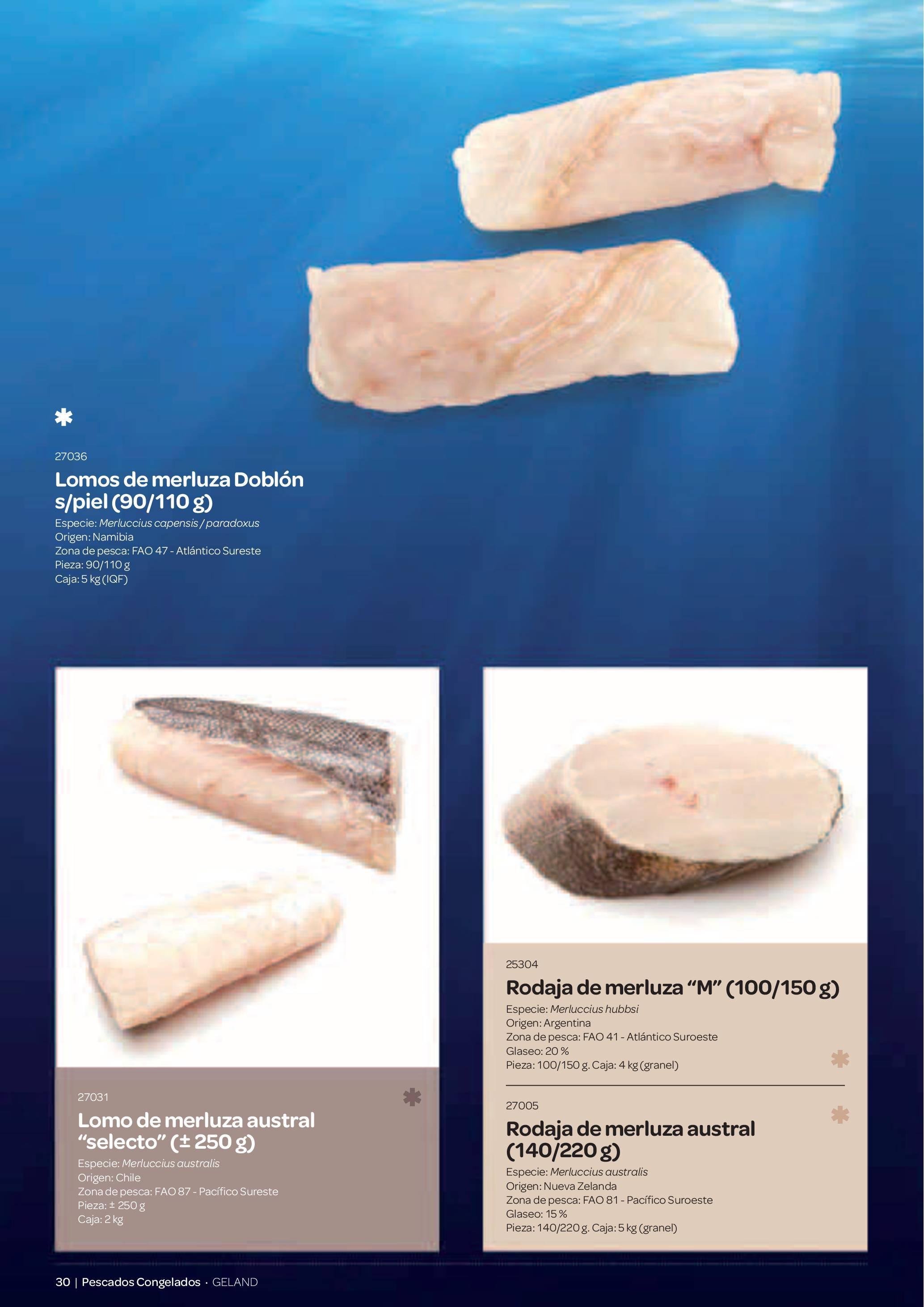 Gama Productos del Mar - Pag. 030