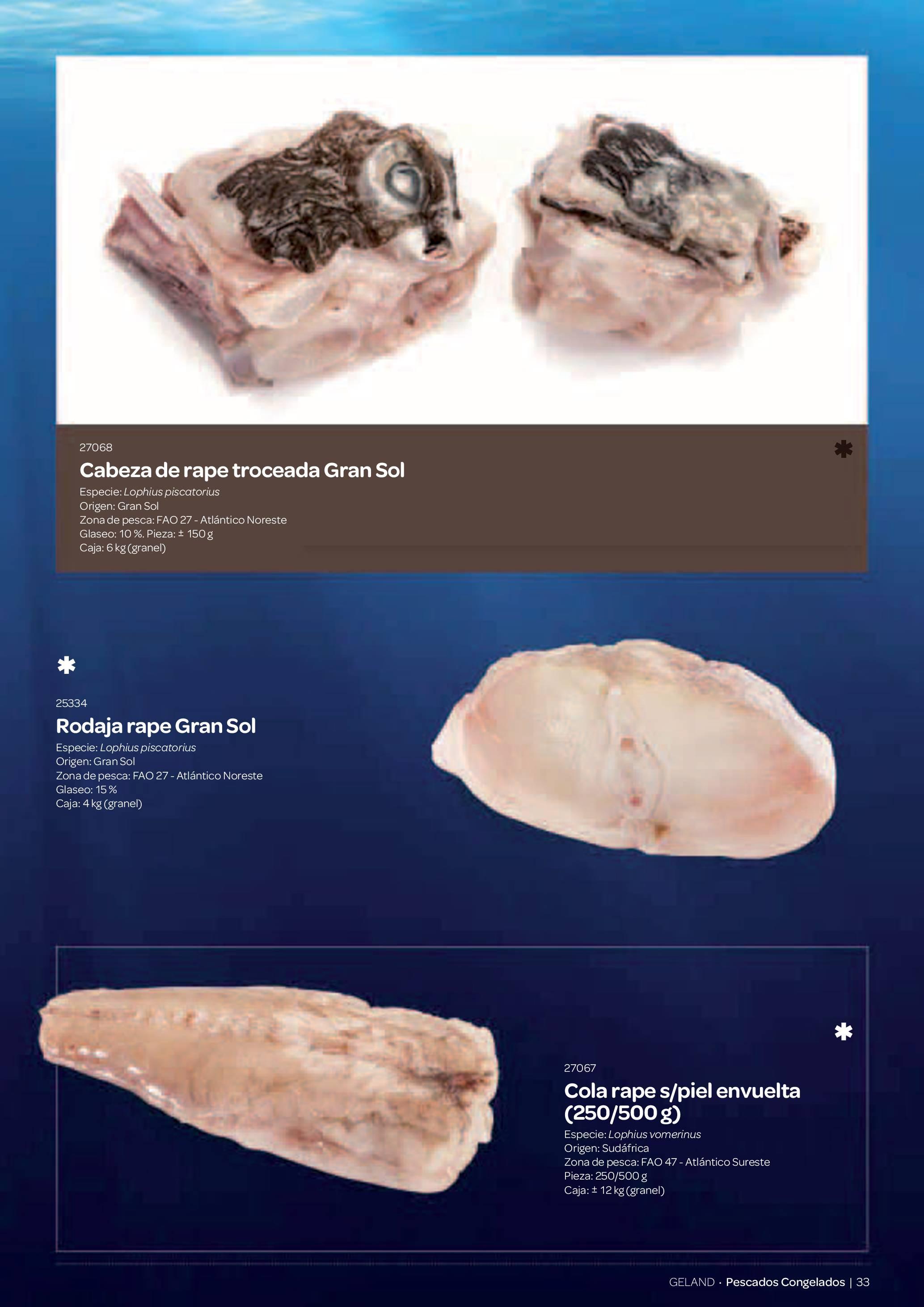Gama Productos del Mar - Pag. 033