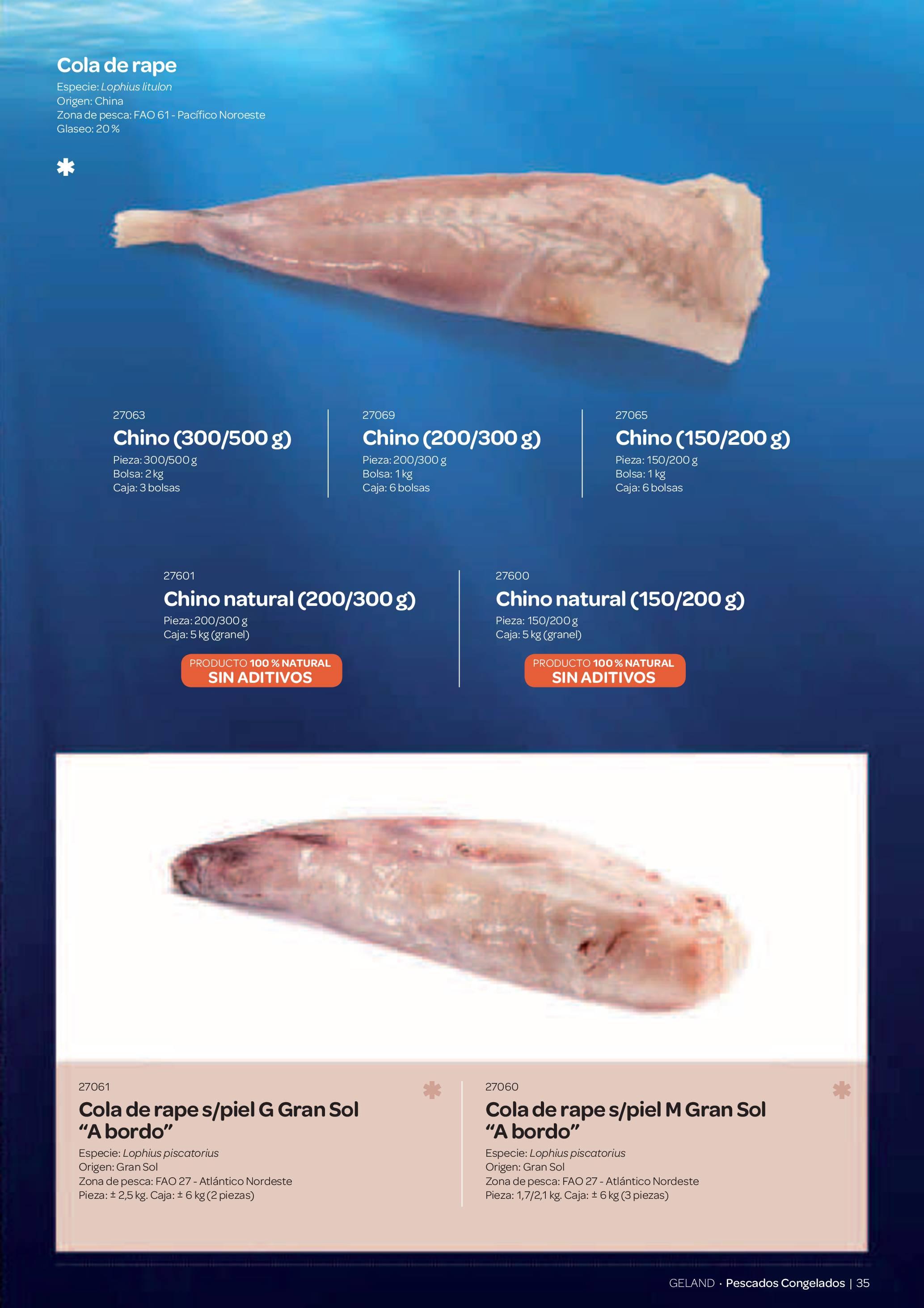 Gama Productos del Mar - Pag. 035