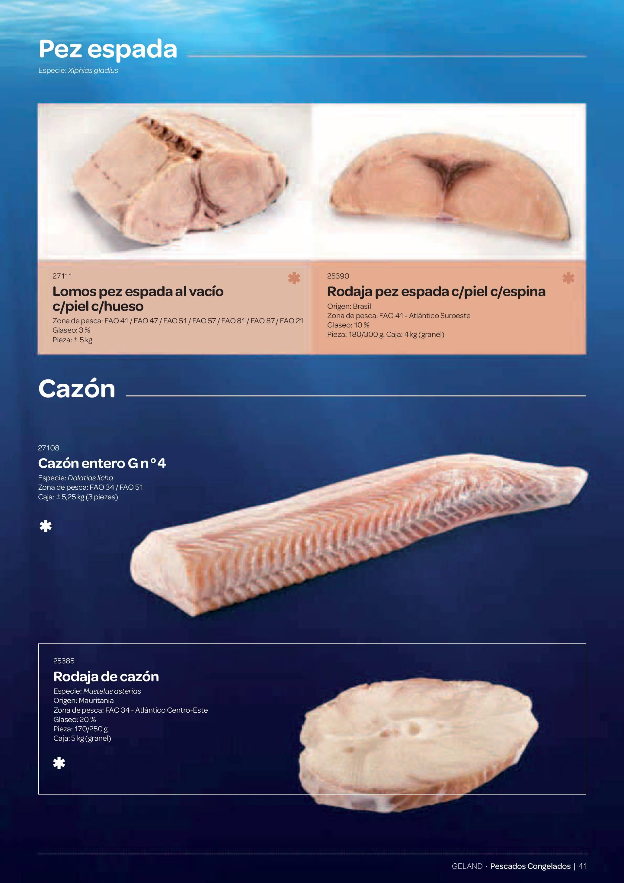 Gama Productos del Mar - Pag. 041