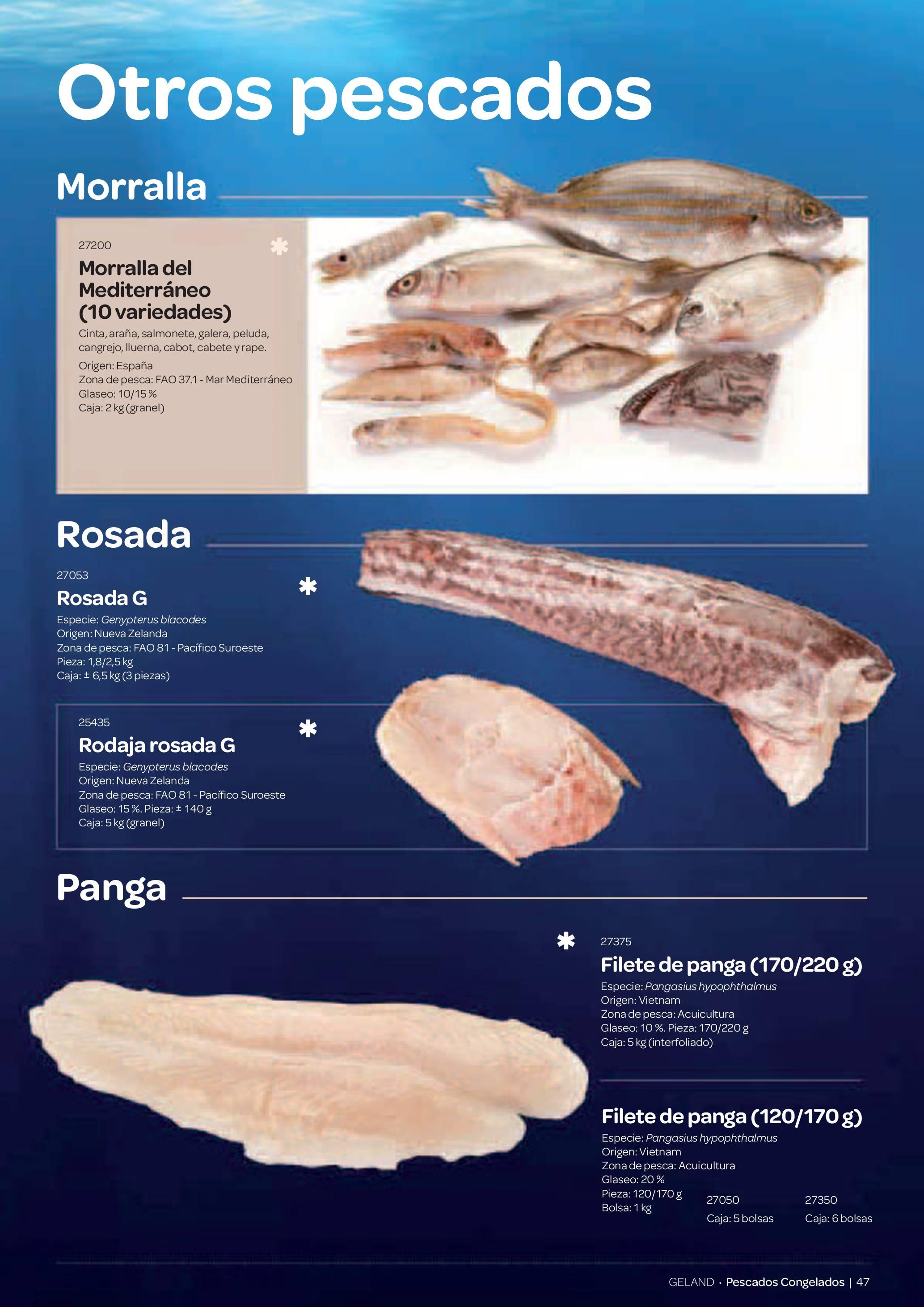 Gama Productos del Mar - Pag. 047