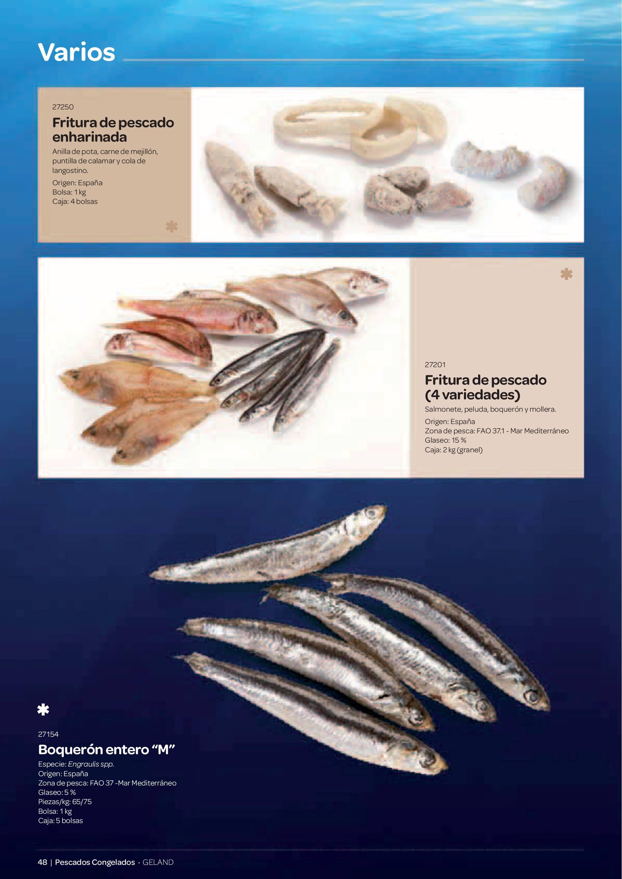 Gama Productos del Mar - Pag. 048