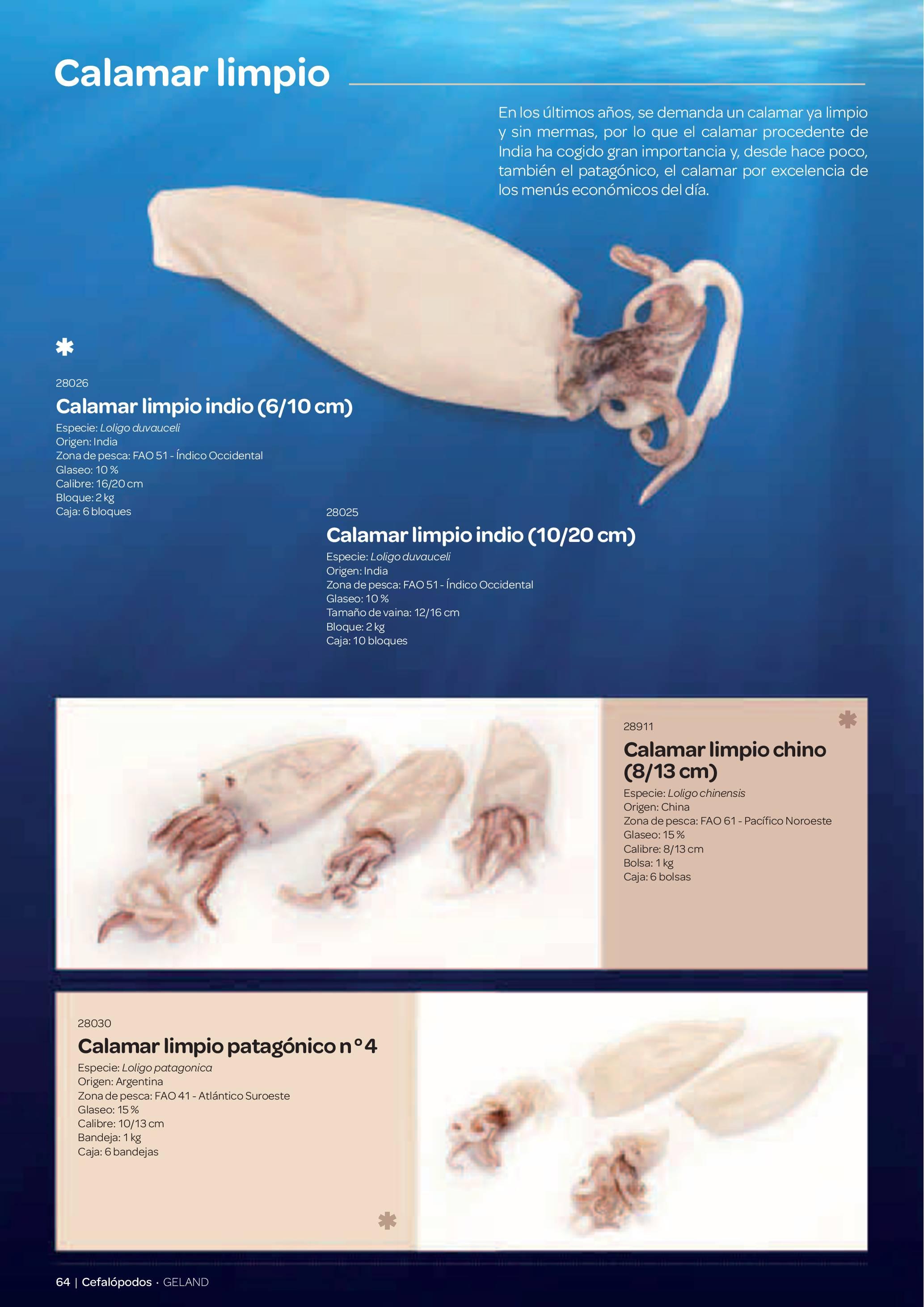Gama Productos del Mar - Pag. 064