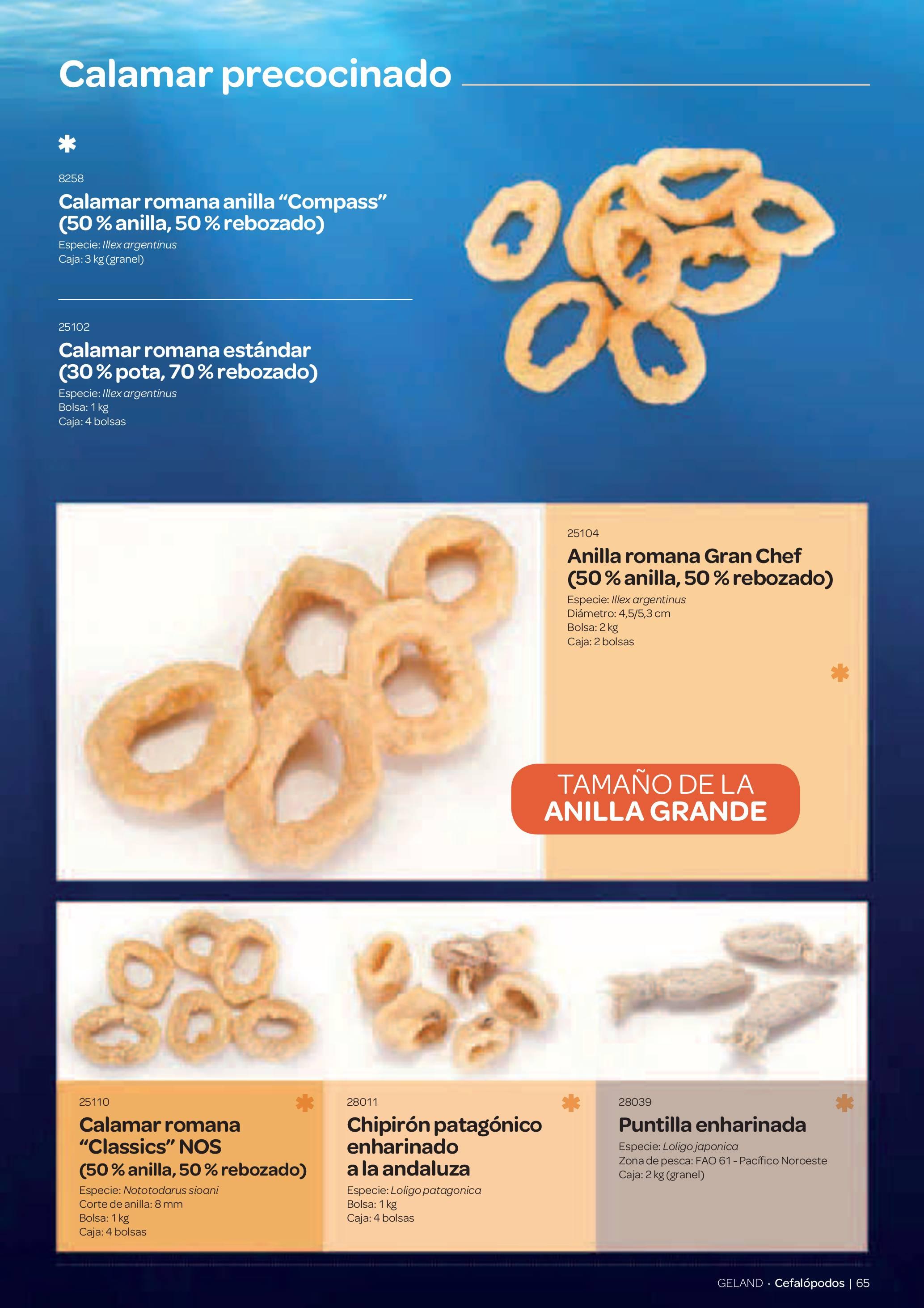 Gama Productos del Mar - Pag. 065