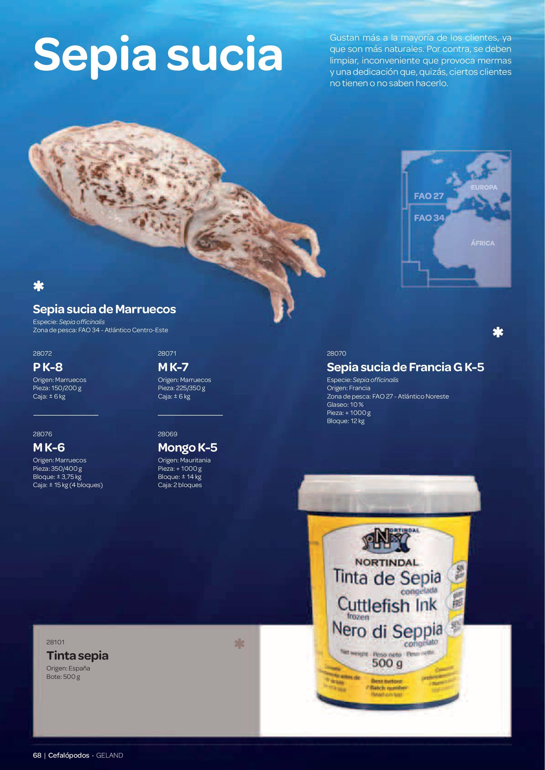 Gama Productos del Mar - Pag. 068