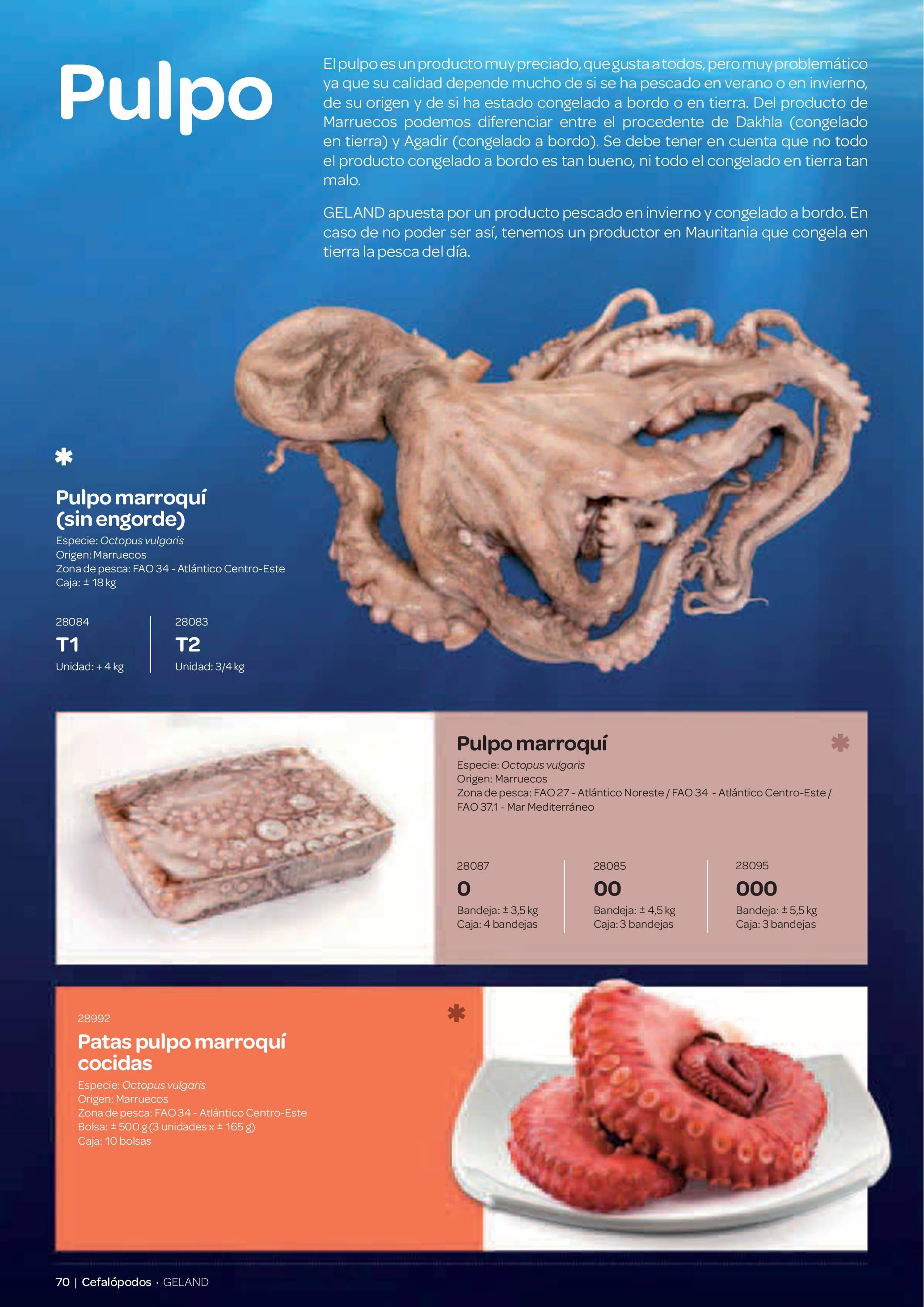 Gama Productos del Mar - Pag. 070
