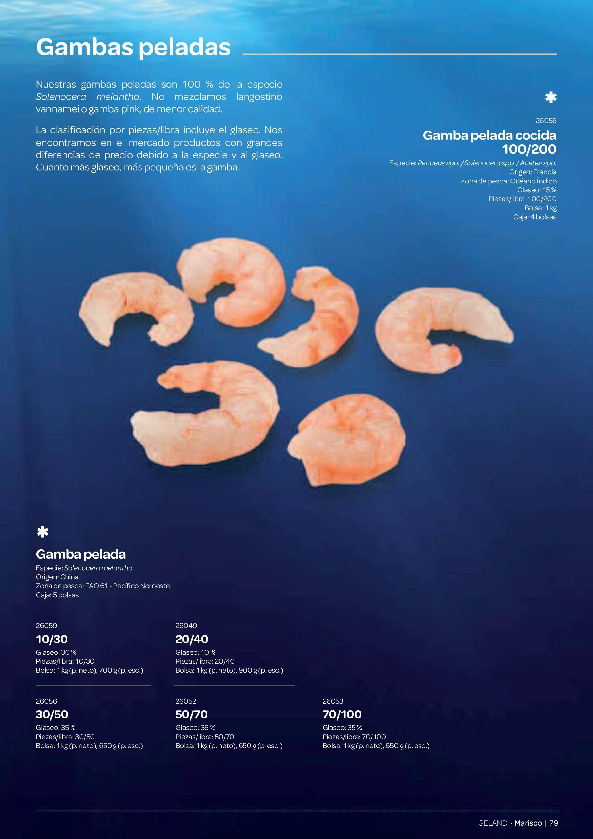 Gama Productos del Mar - Pag. 079