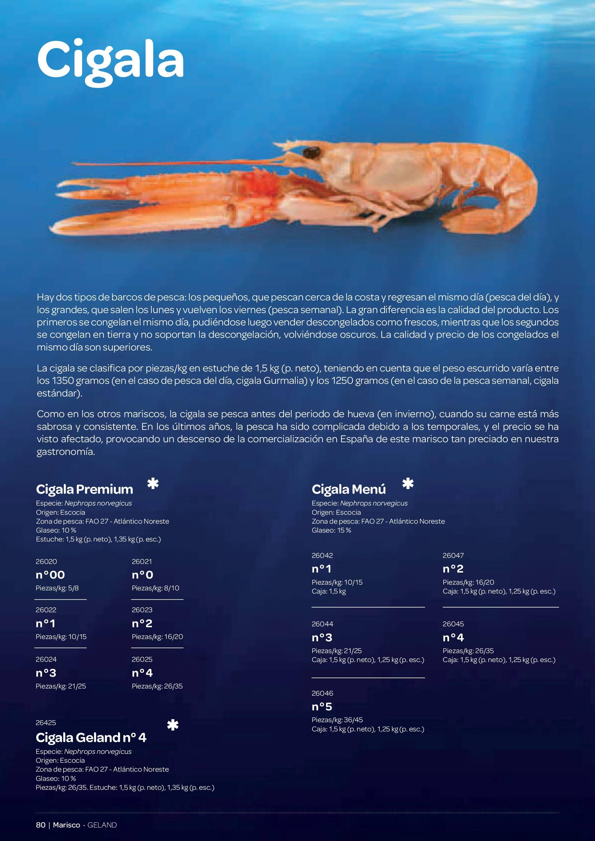 Gama Productos del Mar - Pag. 080