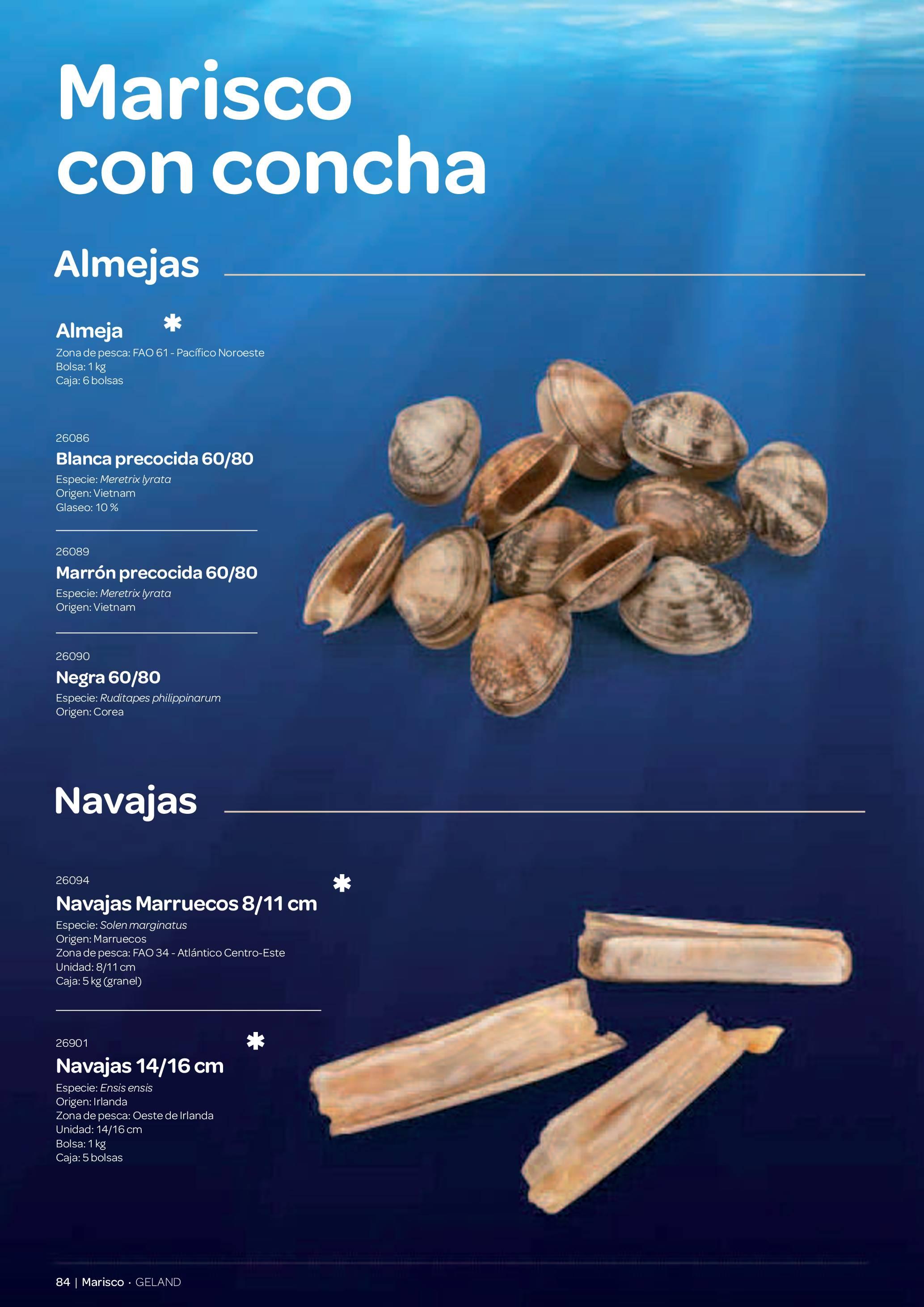 Gama Productos del Mar - Pag. 084
