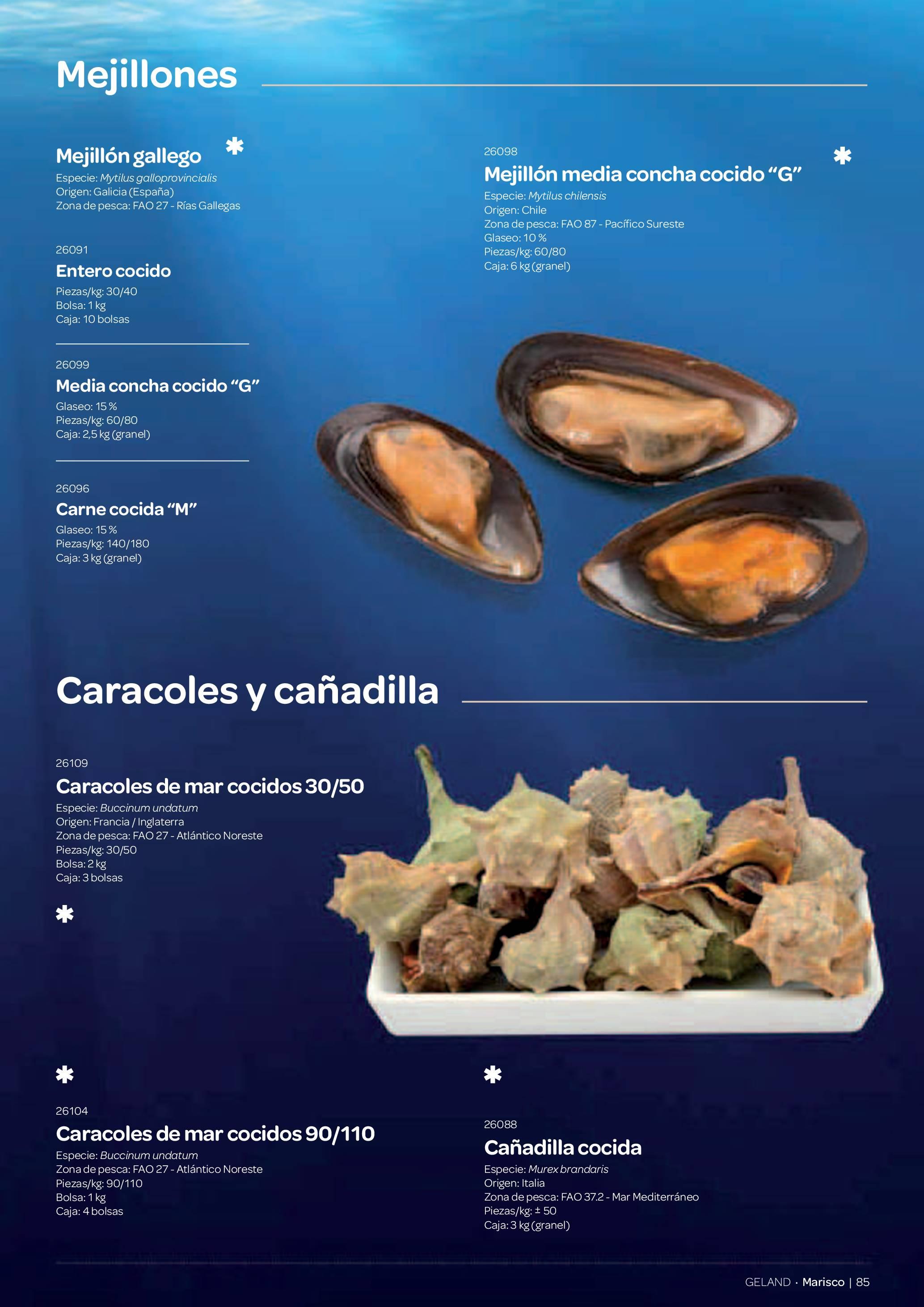 Gama Productos del Mar - Pag. 085