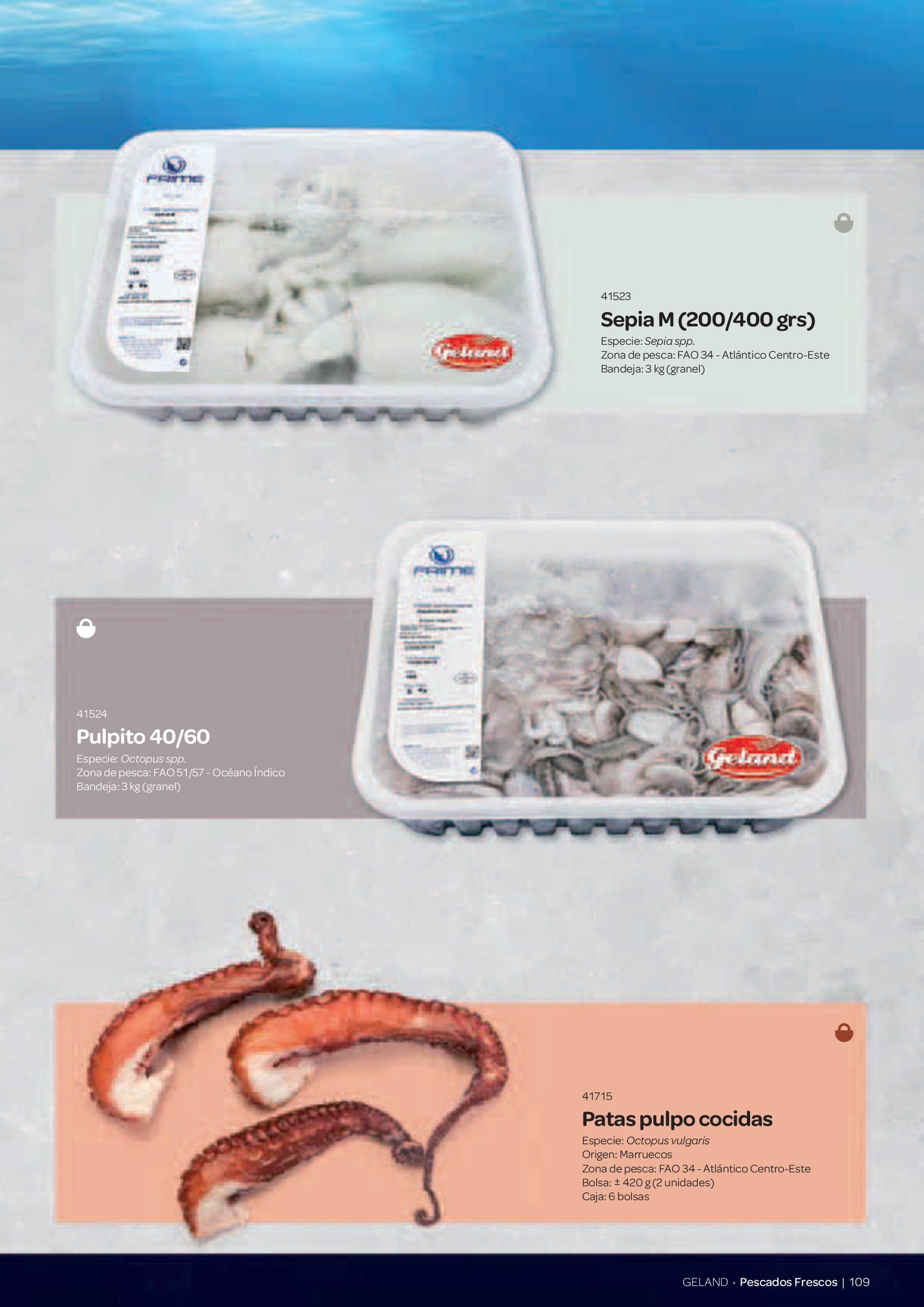 Gama Productos del Mar - Pag. 109