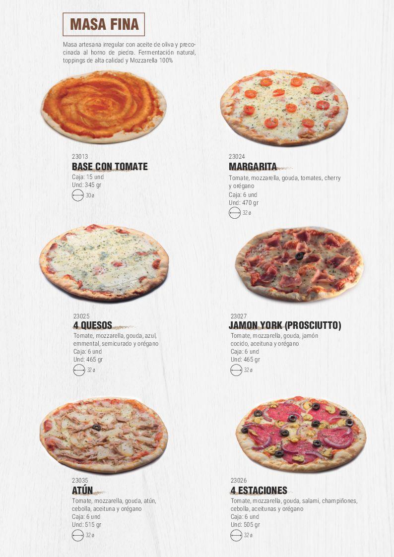 Catálogo Pizzas - Pag. 003